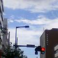 赤信号 … 盛岡中央通り13時45分