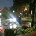 岩手公園前・雨 … 17時01分