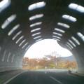トンネルの先に紅葉 … 網張15時17分