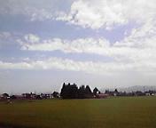 夏景色…紫波午前10時57<br />  分