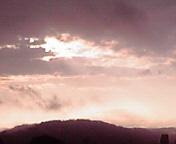 朝空…盛岡午前6時11<br />  分
