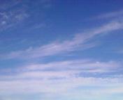 爽やかな空…盛岡午前9時5<br />  2分