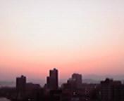 暮れゆく空… 9月17<br />  日17時37<br />  分