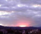 日の出直前…盛岡午前6時1<br />  0分