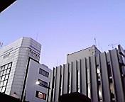 空…盛岡肴町バス停から11<br />  月26日16<br />  時12分