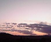 朝空雲…盛岡午前6<br />  時27分