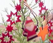 サンタさんと星