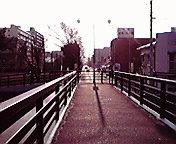 盛岡毘沙門橋から…午前9<br />  時25分