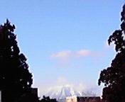 岩手山…盛岡八幡宮から 1<br />  月11日14<br />  時54分