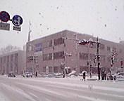 雪…盛岡中央通午後12時<br />  58分