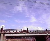 盛岡下ノ橋と空… 1月14<br />  日13時11<br />  分