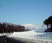 岩手山…小岩井付近午前9時3<br />  5分