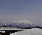 岩手山…小岩井付近12<br />  時47分