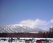 岩手山…雫石スキー場から2<br />  月17日13<br />  時22分