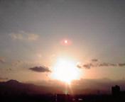 夕日…盛岡2月2<br />  3日16時45<br />  分
