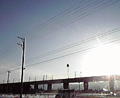 津志田付近…午後1<br />  6時20分
