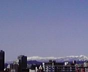遠くに白き山…盛岡午前11時36<br />  分