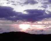 朝空…盛岡午前6時8<br />  分