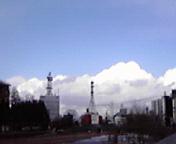 白い雲…盛岡3月2<br />  7日14時39<br />  分