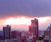 夕空…盛岡3月2<br />  9日17時40<br />  分