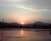 夕日…紫波 5月<br />  9日18時11<br />  分
