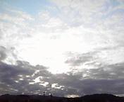 朝の空…午前5時2<br />  4分