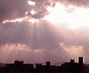 雨上がりの空…6月11<br />  日盛岡1<br />  7時43分