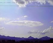 遠くに南昌山…紫波 <br />  7月11日14<br />  時43分