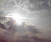 朝の光…盛岡午前7時15<br />  分