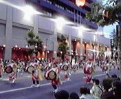 さんさ踊り…岩銀本店前 8月<br />  1日18時29<br />  分