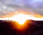 日の出…盛岡午前5時22<br />  分