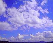 流れる雲…盛岡午後12時<br />  04分