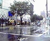 雨…盛岡菜園 10<br />  月26日15<br />  時05分