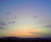 朝空…盛岡 10<br />  月28日午前<br />  5時56分