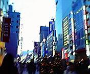 夕暮れ…銀座 12<br />  月12日16<br />  時29分