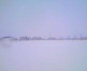 雪景色…矢巾町 12<br />  月20日13<br />  時28分