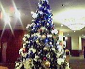 クリスマスツリー…ホテル東日本 12<br />  月23日17<br />  時25分