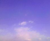 空と雲…盛岡 1月<br />  15日午前10時22<br />  分