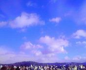 空と雲2…盛岡 <br />  1月16日12<br />  時56分
