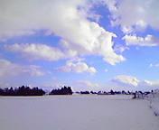 空と雲3…矢巾町 <br />  1月17日14<br />  時30分