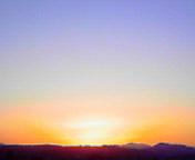 虹色の朝空…盛岡 <br />  2月2日午前6時4<br />  9分