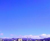 青空…盛岡 2月<br />  3日午前<br />  10時39分