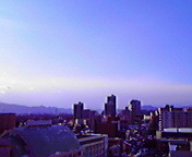 たなびく白雲…盛岡 <br />  2月4日14<br />  時55分