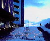 おでって前…雪あかり 2月12<br />  日17時24<br />  分