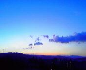 日の出前…盛岡 <br />  2月23日5<br />  時59分