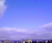 青空…盛岡 3月<br />  11日14時11<br />  分