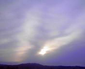 朝の空…盛岡 3月<br />  24日午前6<br />  時26分