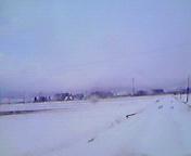 再び雪…矢巾 3月<br />  27日14時27<br />  分