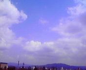 空と雲…盛岡 4月<br />  6日12時18<br />  分