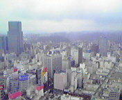 雨の仙台…アエル3<br />  1階から 4<br />  月12日14<br />  時32分